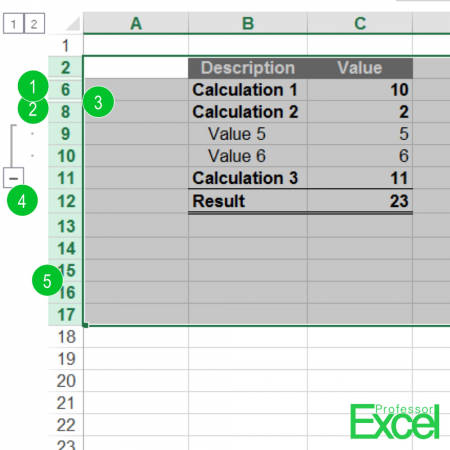 Unhide All Rows or Columns in Excel at the Same Time | Professor Excel