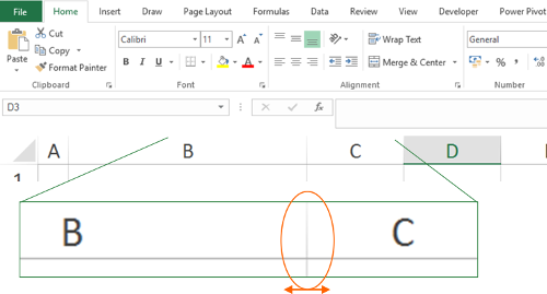 distribute, rows, columns, excel, manually,