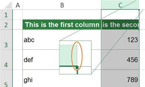 distribute, adjust, autofit, column, excel, double, click