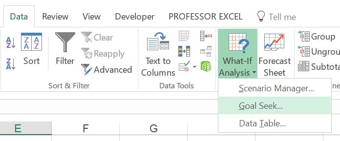 goal, seek, data, what-if-analysis