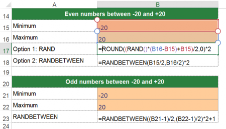 number, random, odd, even, example, minimum, maximum