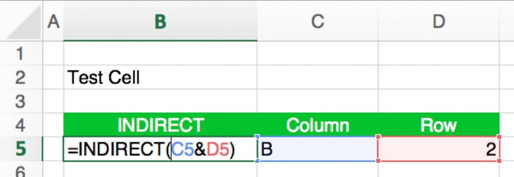 INDIRECT: How to Use Text as a Cell Reference in Excel | Professor Excel