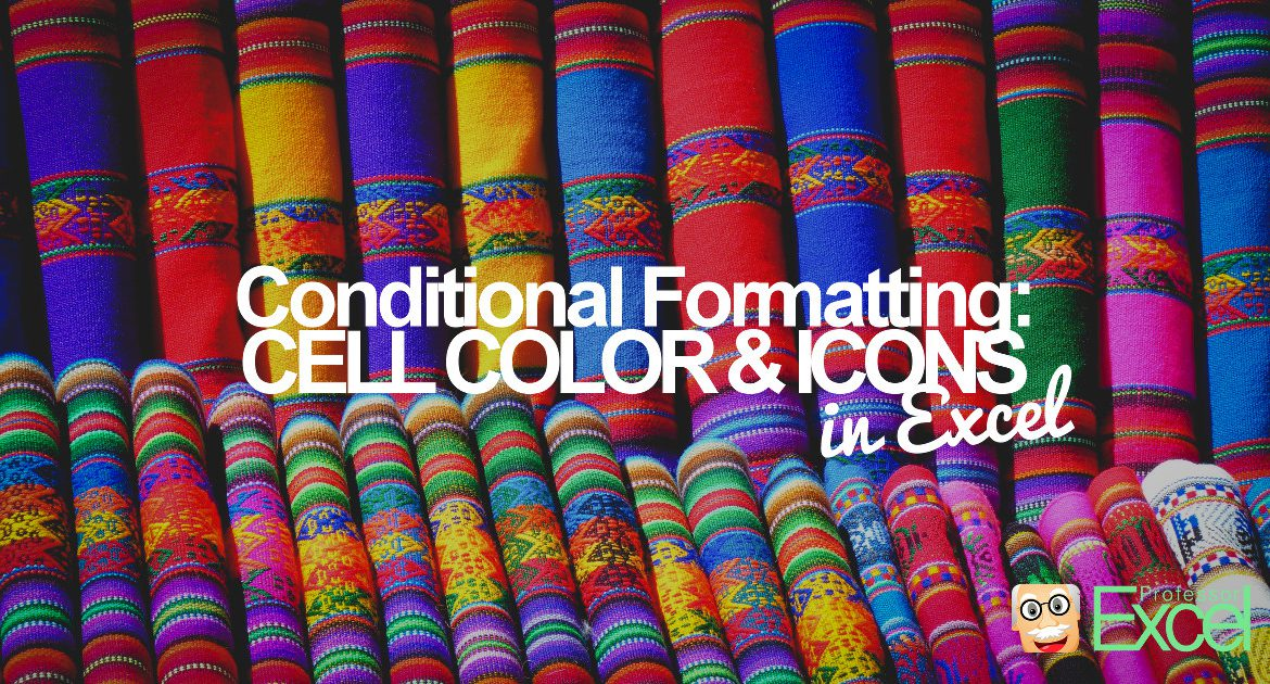 conditional, formatting, excel, background, color, icon, sets