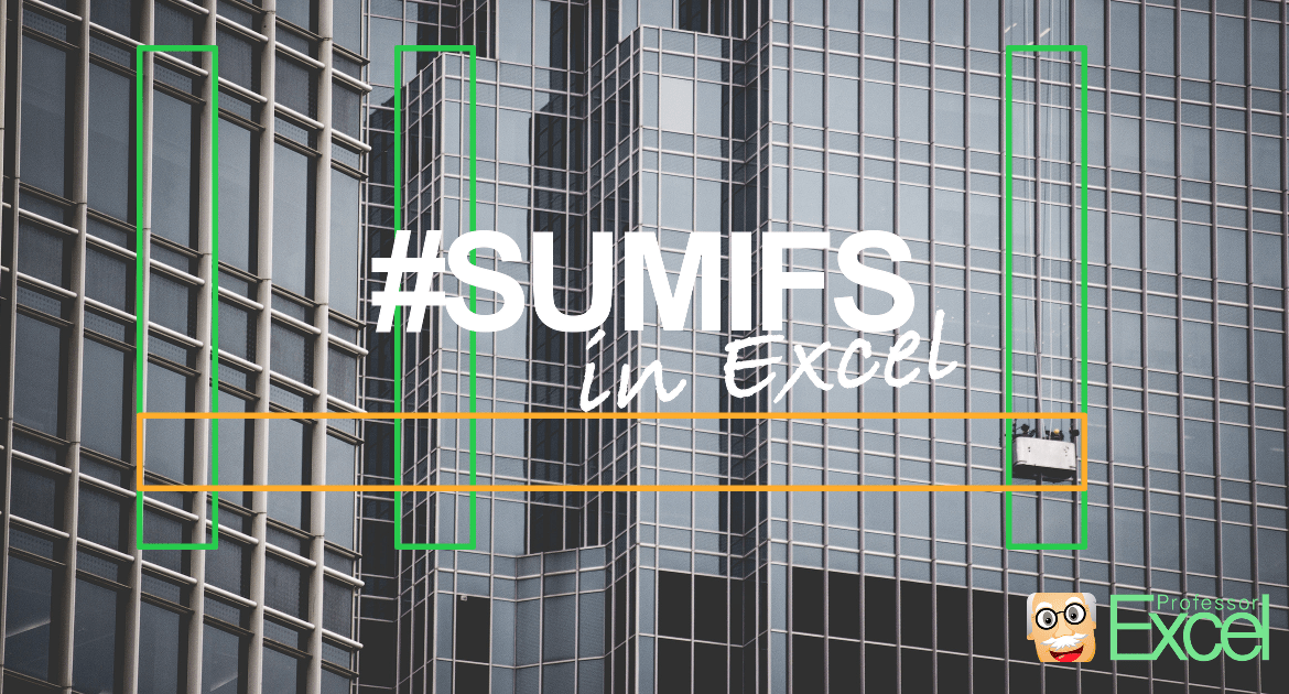sumifs, excel, thumbnail, sumif, tutorial
