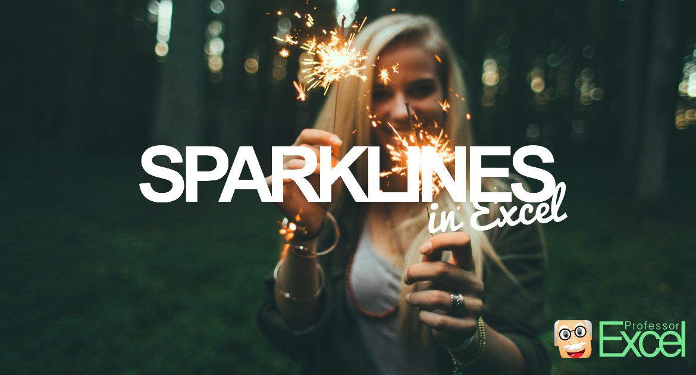 sparklines, excel