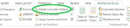 remove, last, character, letter, len, delete, blank, space