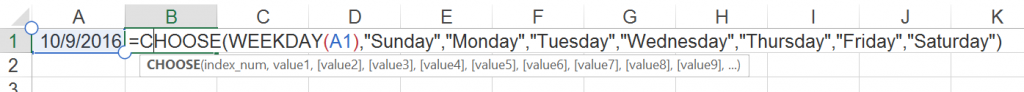 weekday, name, date, link, reference, excel, day
