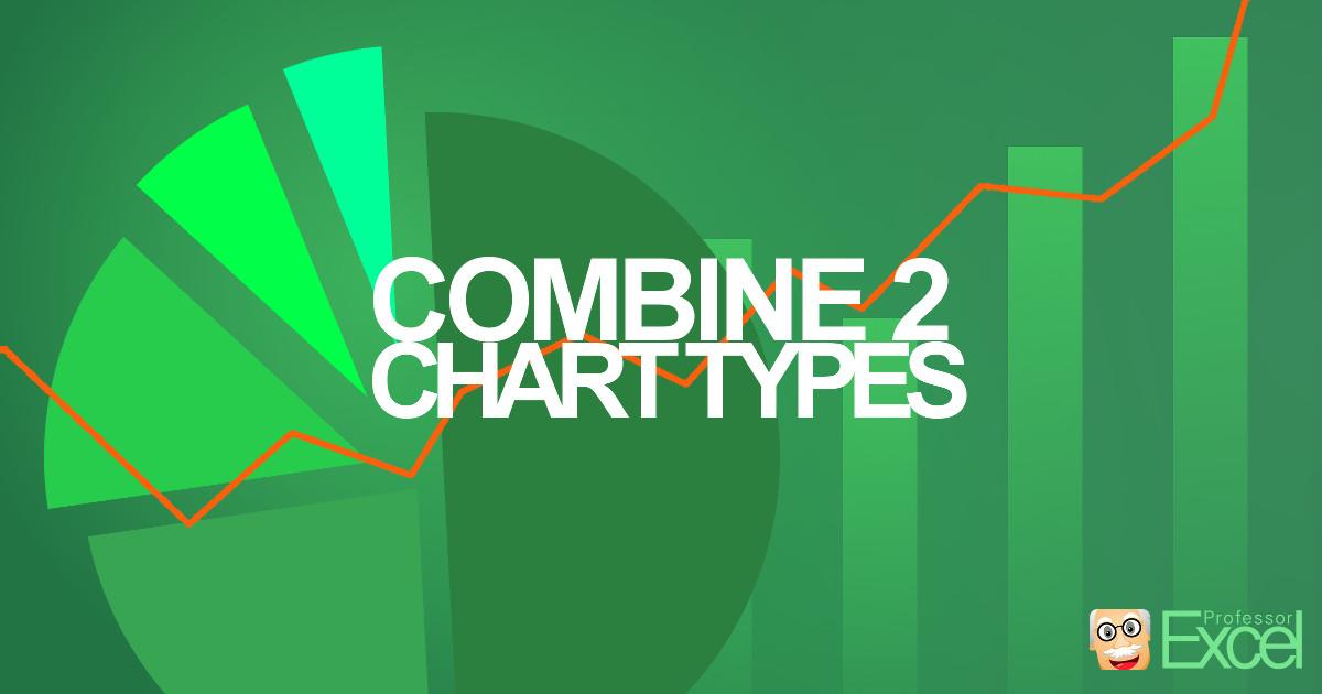 combine, chart, types, excel