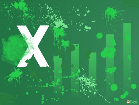 wallpaper, excel, graph, desktop, background, green