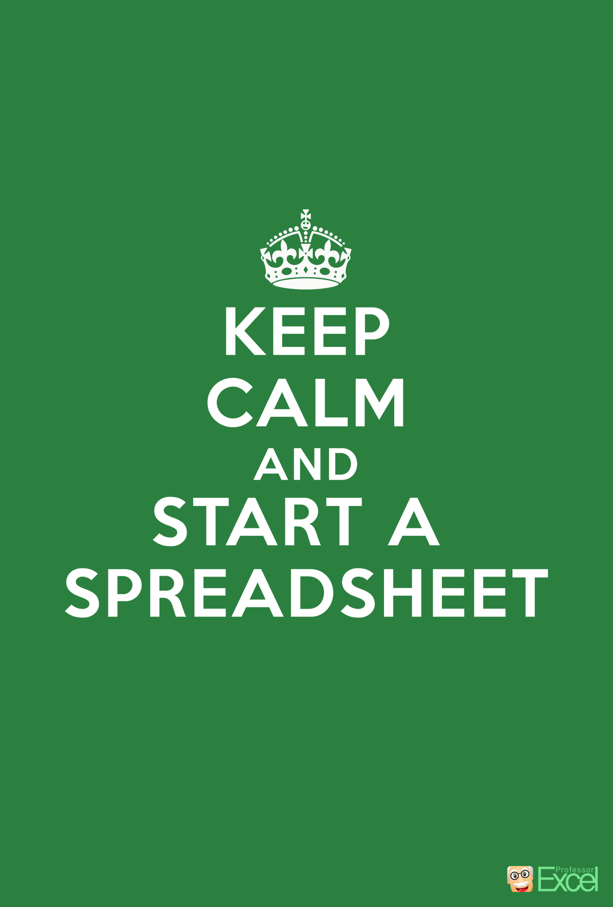 Wallpaper Mobile Excel Free Keep Calm Spreadsheet