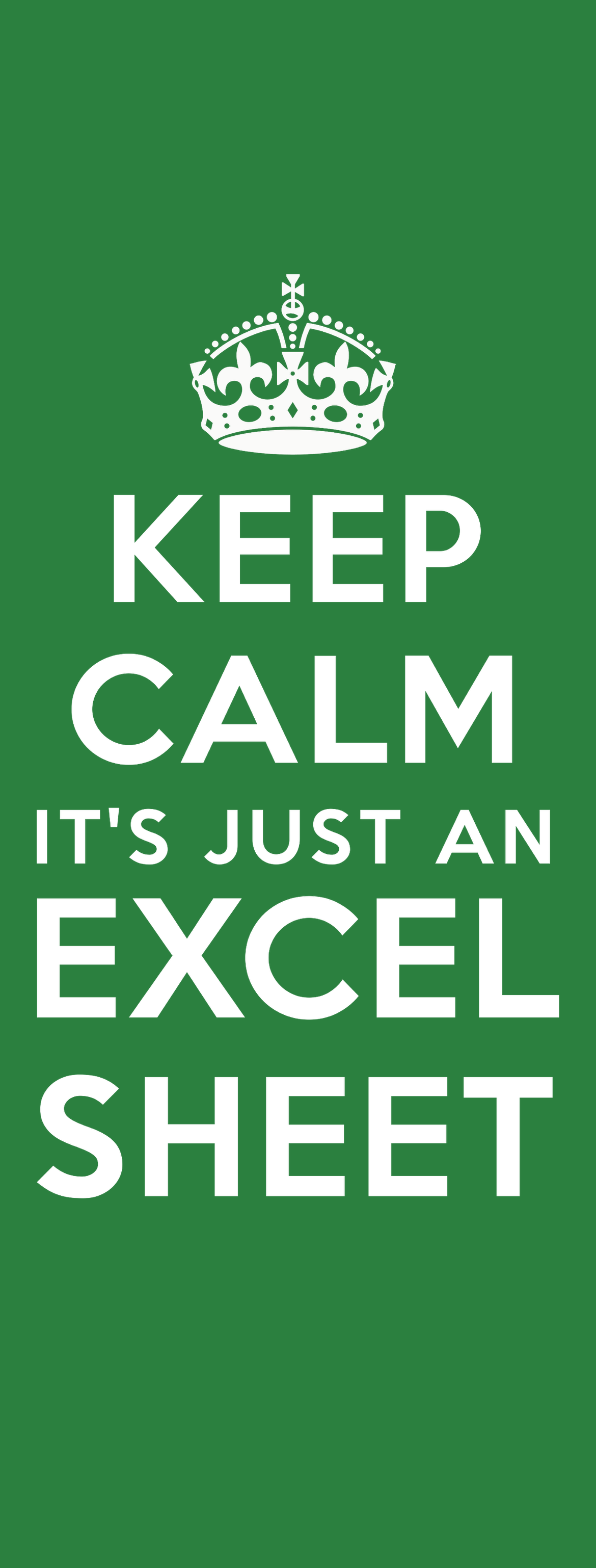 wallpaper, mobile, excel, free, keep, calm, spreadsheet