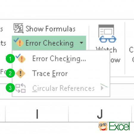 error, checking, check, mistake, excel, trace error