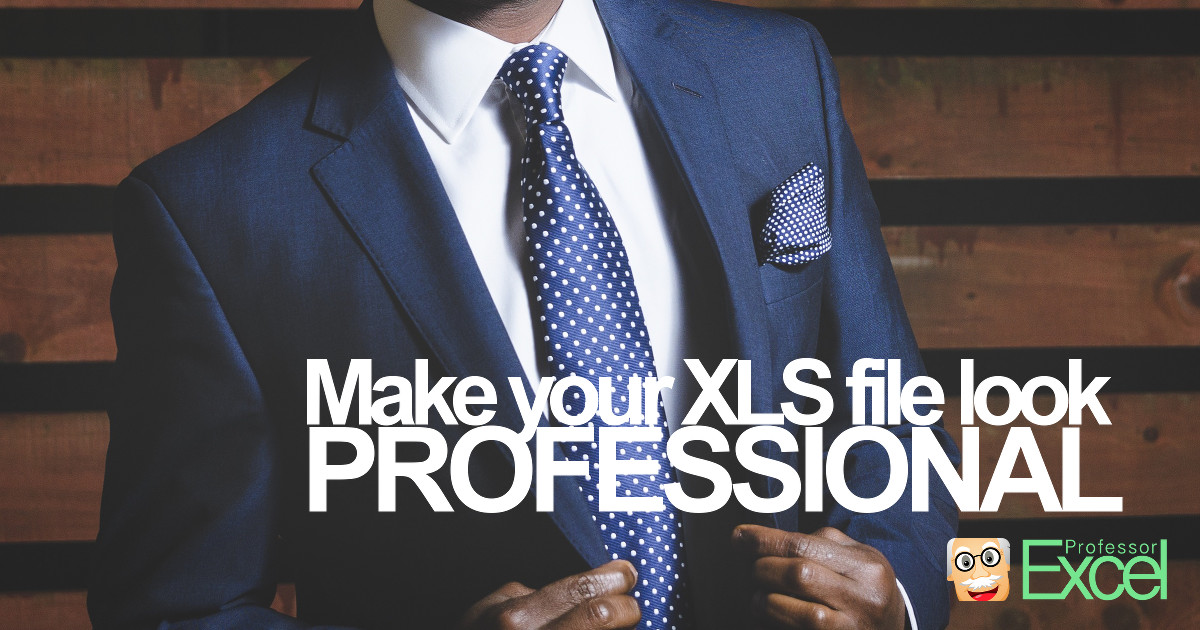 professional, excel, file, workbook, layout