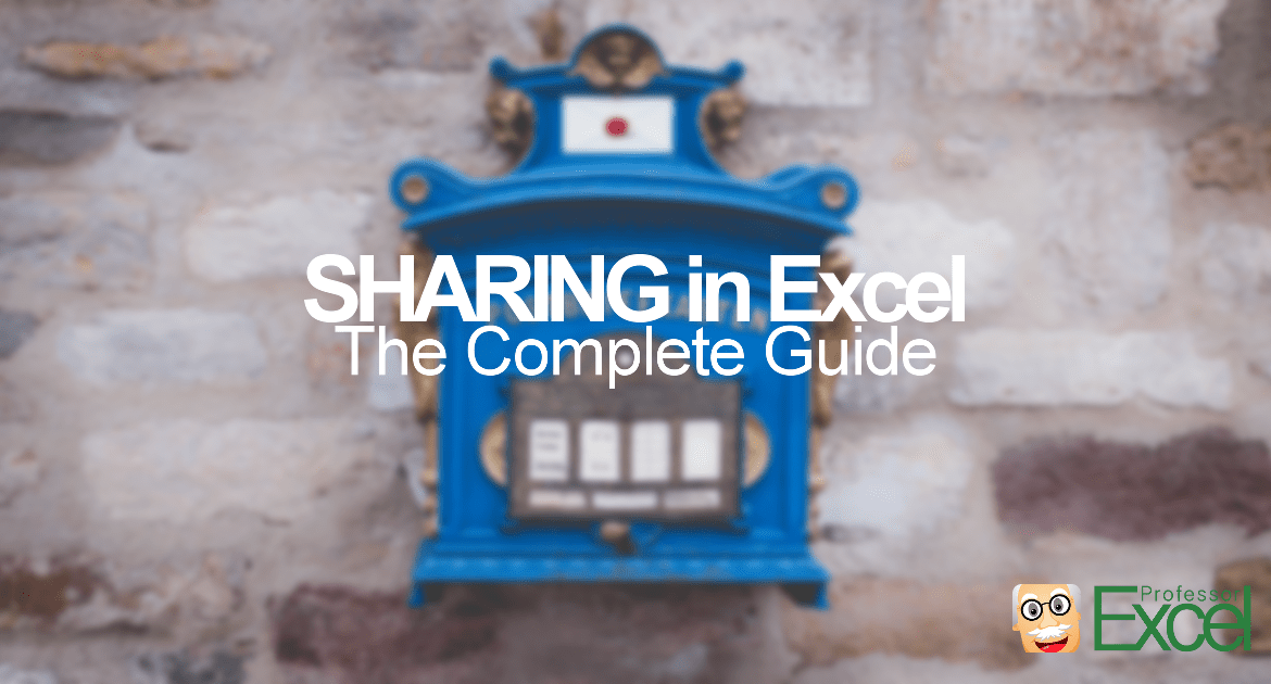 sharing, excel, complete, guide, email, post, mail