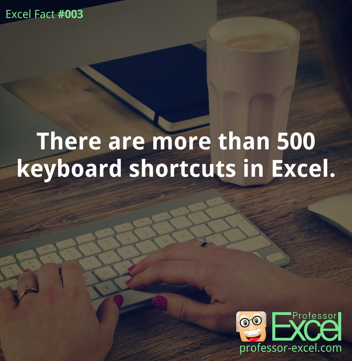 excel, fact, number, shortcuts, keyboard