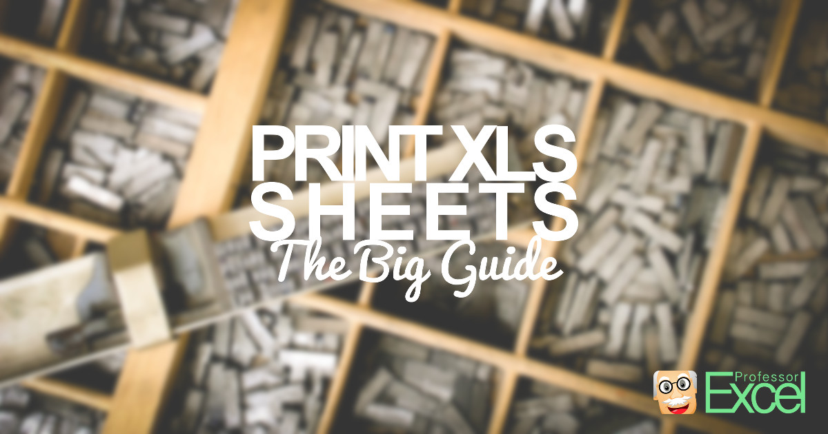 Print Excel sheets: No more trouble when printing with this guide