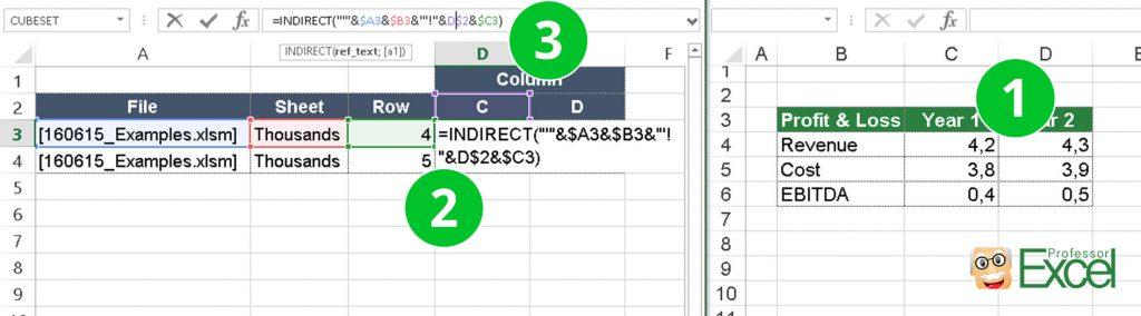 indirect, link, other, file, excel