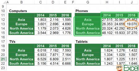 3d Lookups In Excel 6 Methods Download Professor