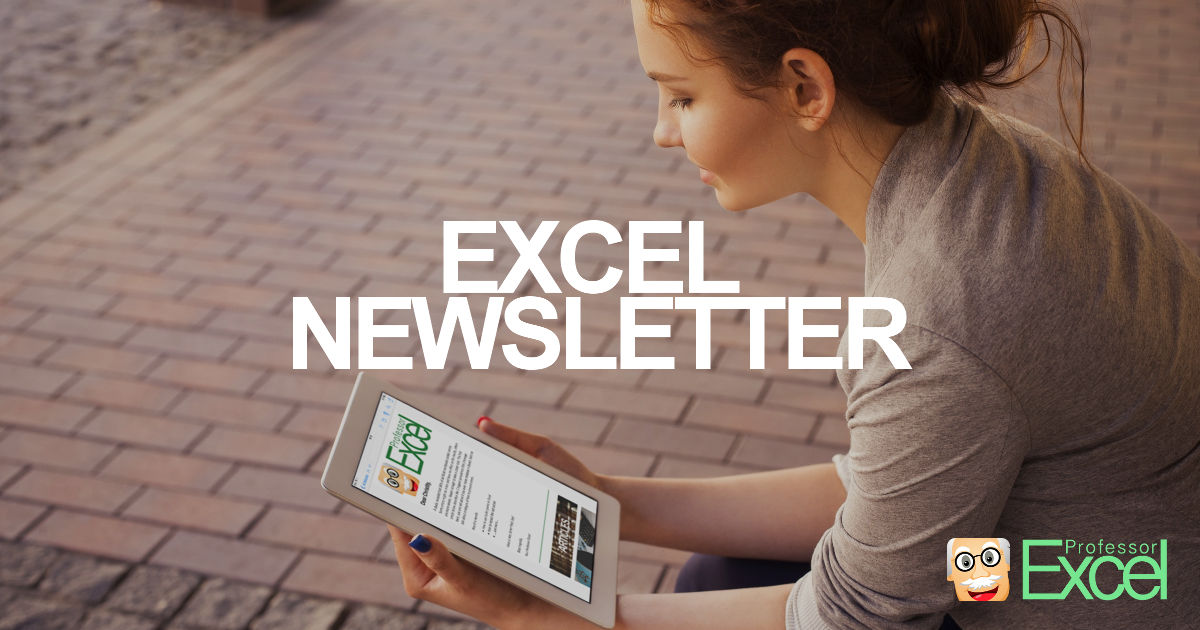 Excel, newsletter, free
