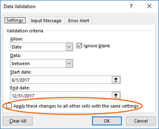data, validation, data validation, update, same, settings