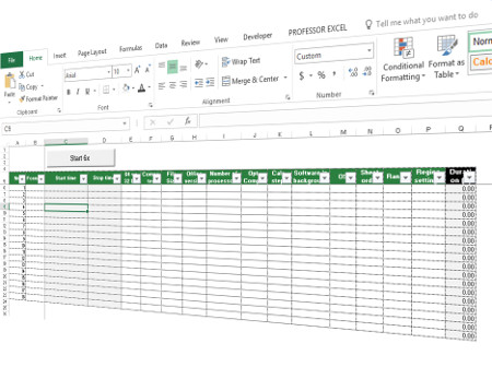 excel, test, download, file, performance, measure