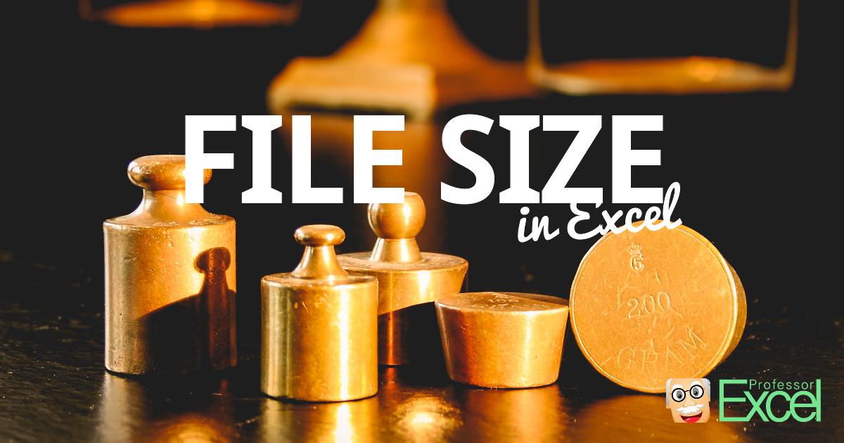study, file, size, file size, reduce, excel, workbook, compress