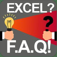 Excel FAQ Button