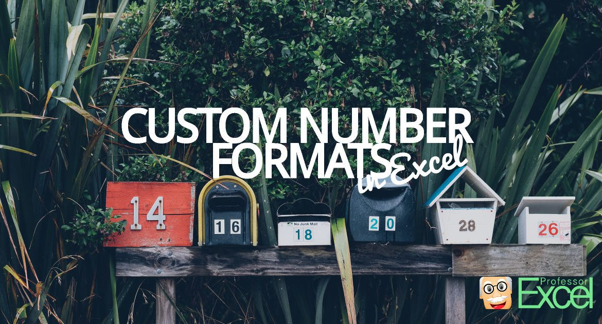 custom, number, format, excel