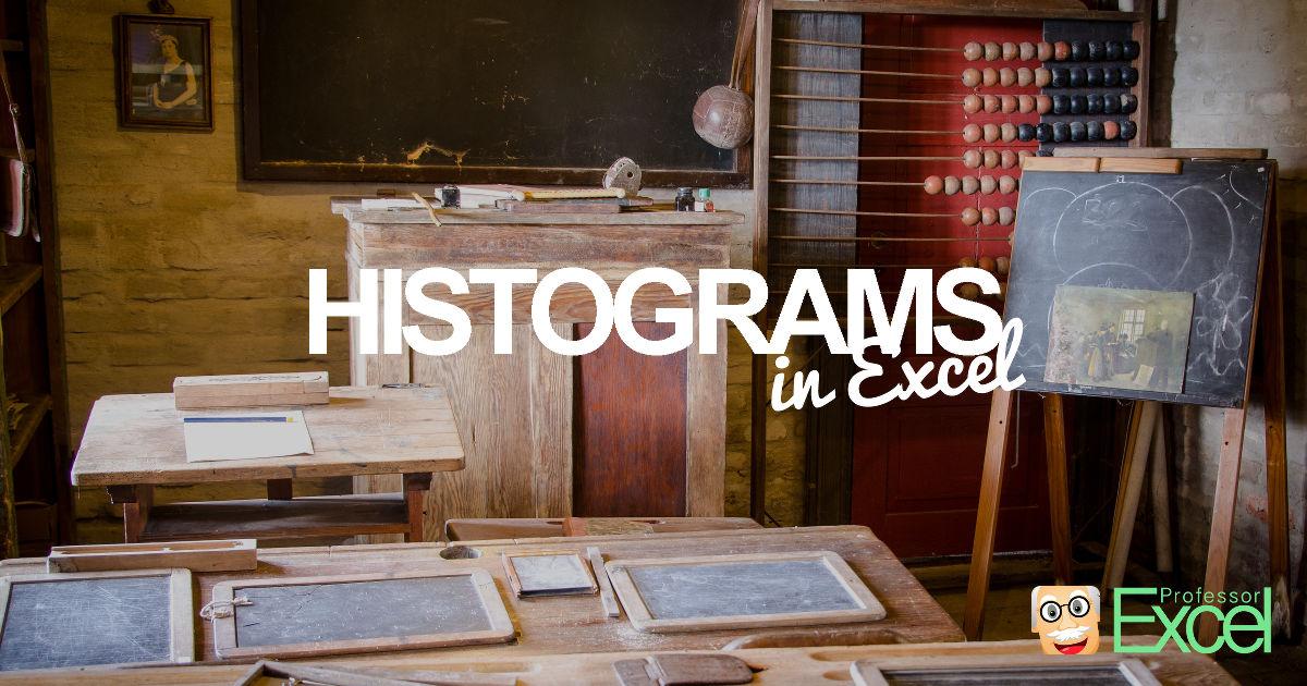 histogram, histograms, excel, chart