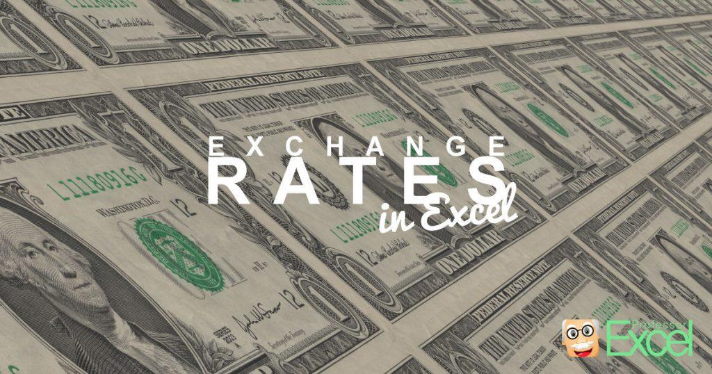 exchange, rates, excel, currency, currencies, conversion