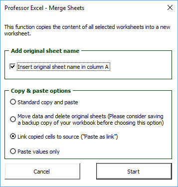 professor, excel, tools, merge, combine, sheets, worksheets, excel, add-in