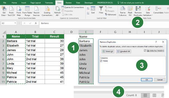 Count Number of Unique Records in Excel: 5 Methods (+Download