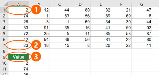 Copy Table to One Column in Excel: 4 Easy Methods | Professor Excel