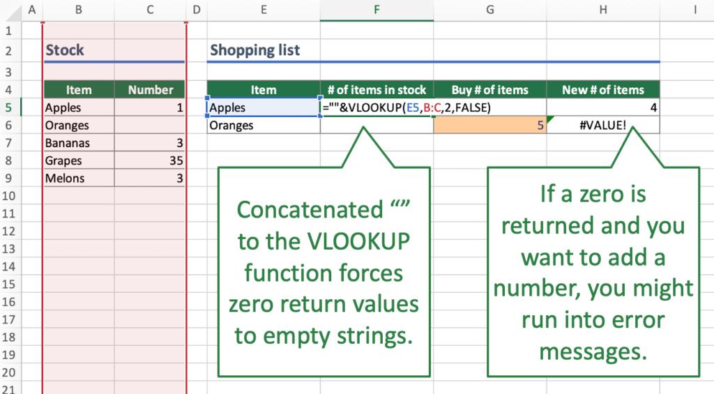 Careful: Return value is interpretated as text.