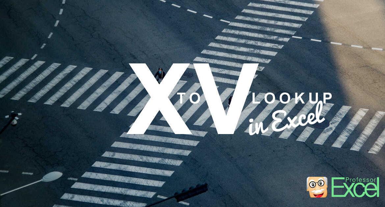 Convert XLOOKUP to VLOOKUP in Excel.