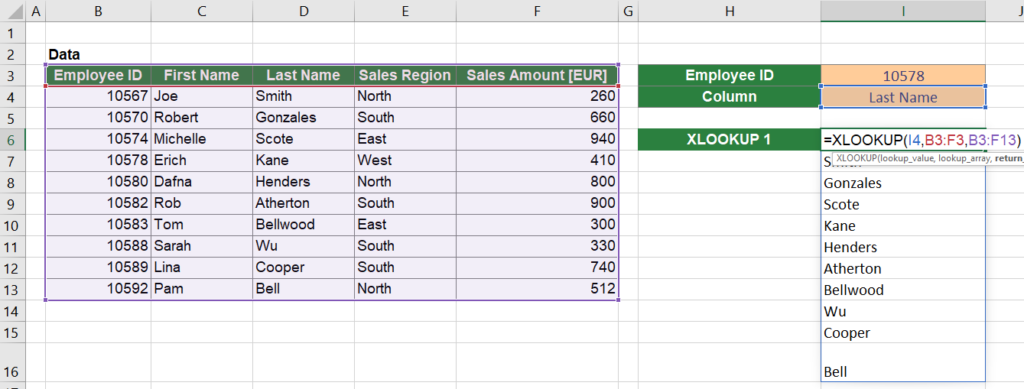 Just for your reference: This would be the output of the inner XLOOKUP function.