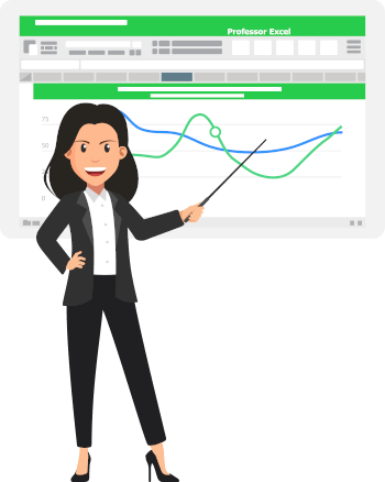 Excel training with Professor Excel