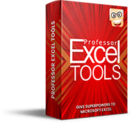 Professor Excel Tools Box